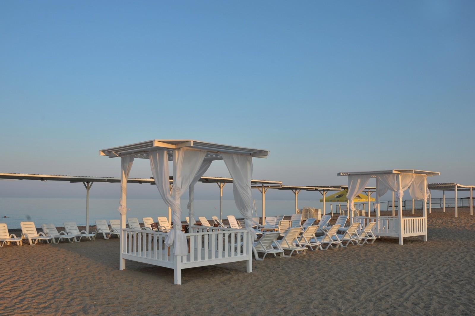 Лучшие отели в крыму с собственным пляжем